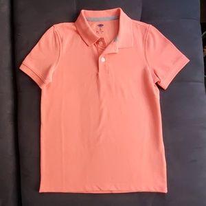 Boys size S - Old Navy orange polo